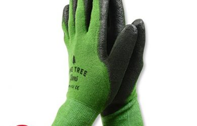 Bamboo garden gloves are perfect for planting and trimming succulents and cactus.