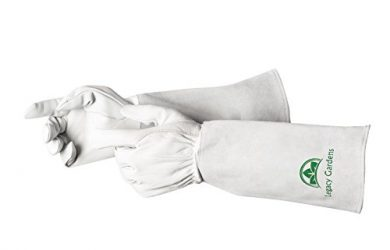 Ultimate Garden Gloves by Legacy Gardens are goatskin leather premium heavy duty work gloves.