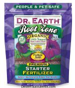 The best fertilizer for cactus and succulents is Dr. Earth Root Zone Fertilizer.