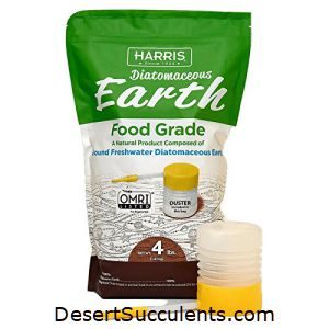 Harris food grade organic diatomaceous earth.