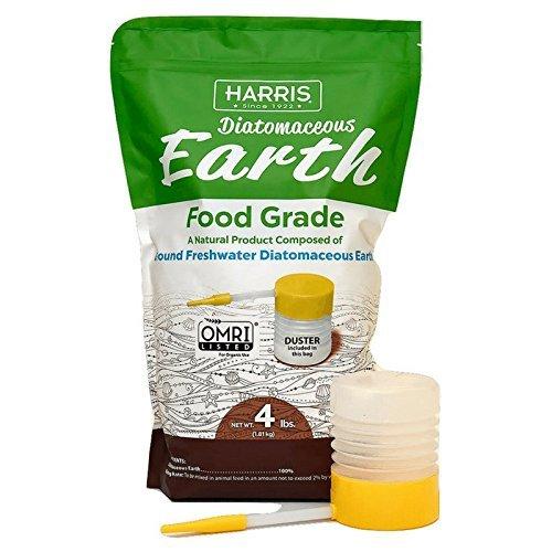 Diatomaceous Earth Food Grade, Free Powder Duster 4lb – Harris